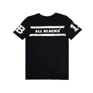 All Blacks Kids Word Mark T Shirt