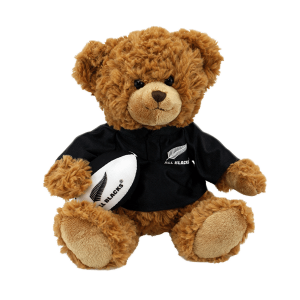 All Blacks Soft Toy Bear with Haka