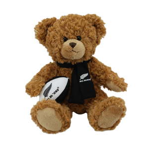 All Blacks Soft Toy Supporters Bear