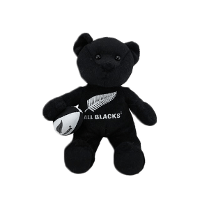 All Blacks Soft Toy Haka Beanie Bear