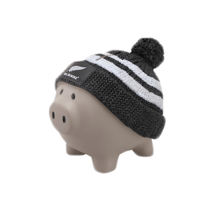 All Blacks Piggybank With Beanie
