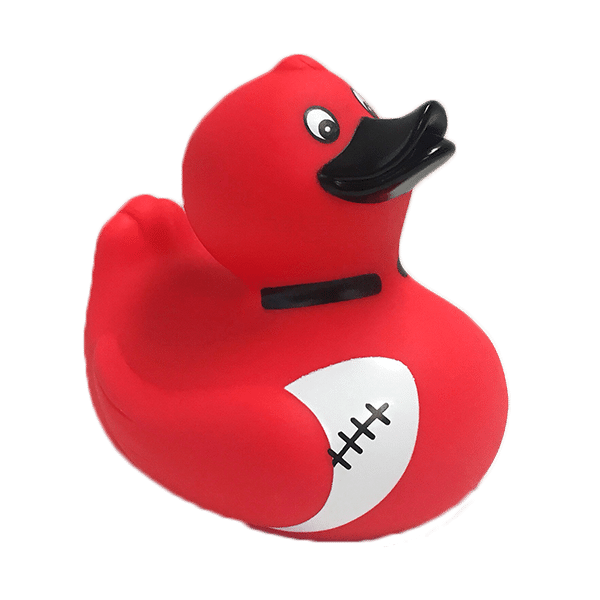 Crusaders Super Rugby Bath Duck