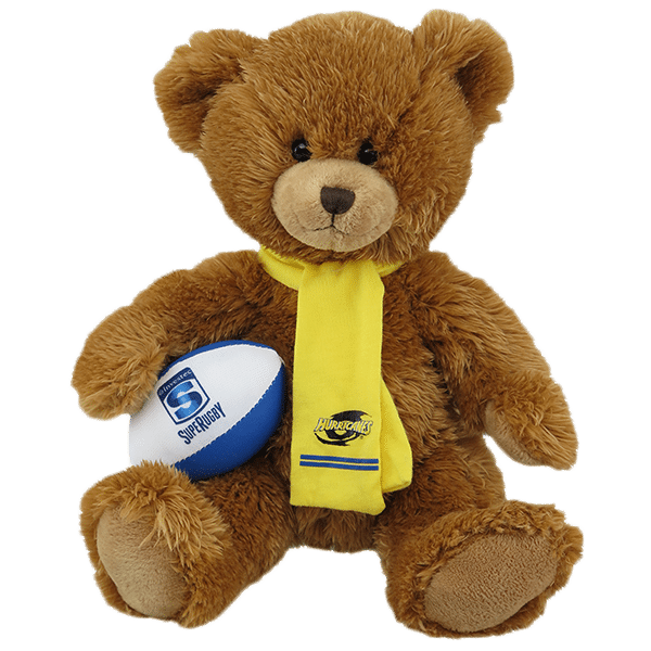 Hurricanes Super Rugby Soft Toy Bear