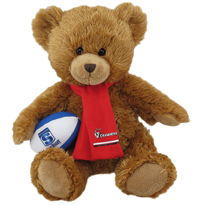 Crusaders Super Rugby Soft Toy Bear