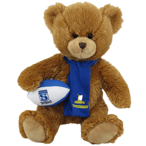 Highlanders Super Rugby Soft Toy Bear