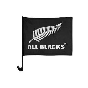 All Blacks Car Flag
