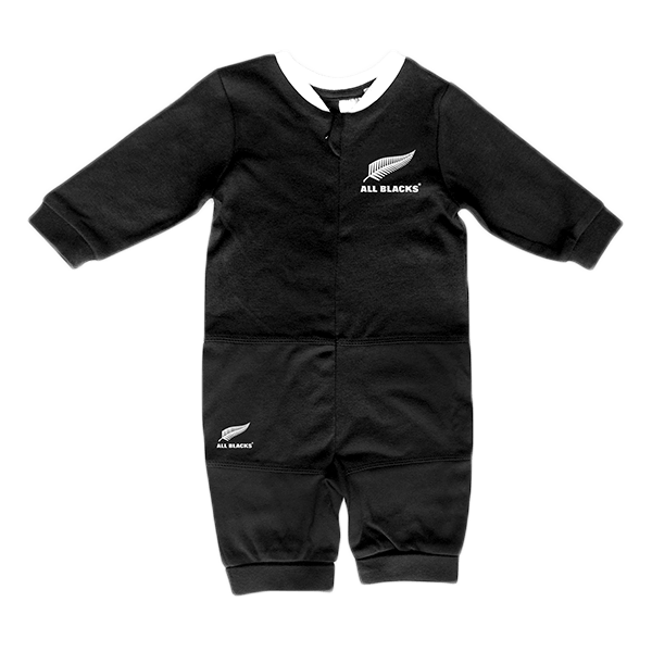 All Blacks Baby Romper Black