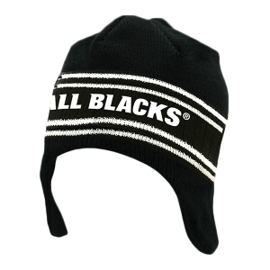 All Blacks Kids Helmet Beanie
