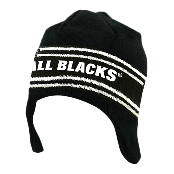 All Blacks Kids Helmet Beanie