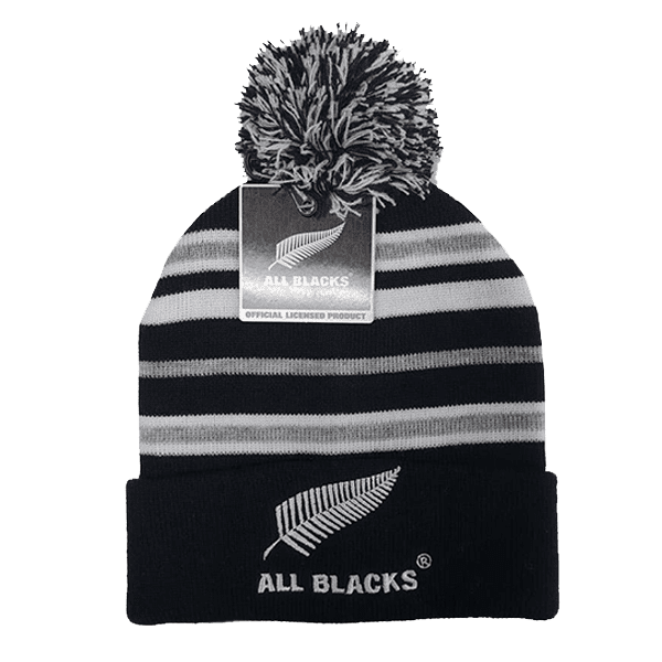 All Blacks Pom Pom Beanie
