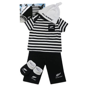All Blacks Baby 4 Piece Gift Set