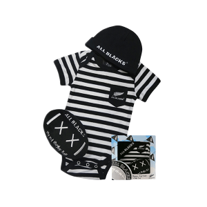 All Blacks Baby 3 Piece Gift Set