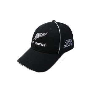 All Blacks Kids Cap Piping