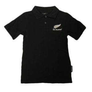 All Blacks Kids Knit Polo