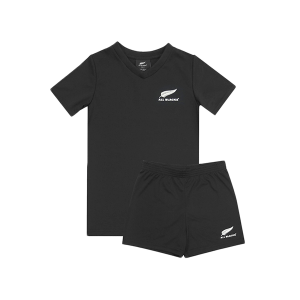 All Blacks Kids Training Set Two Piece