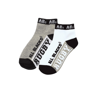 All Blacks Kids Ankle Socks