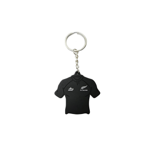 All Blacks PVC Jersey Key Ring