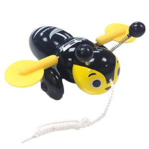 All Blacks Buzzy Bee Pull Toy