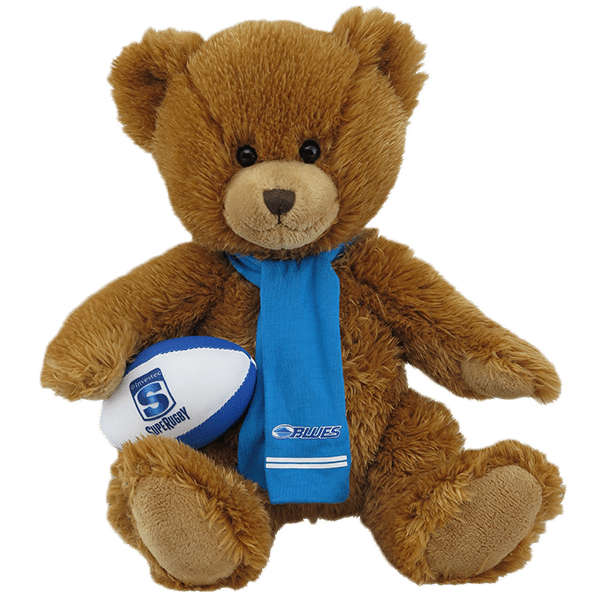 Blues Super Rugby Soft Toy Bear
