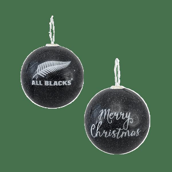 All Blacks Merry Christmas Ornament Black