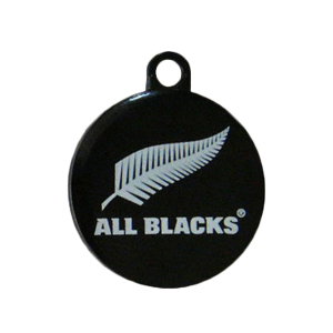 All Blacks Dog ID Tag