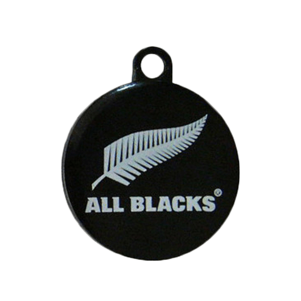 All Blacks Dog ID Tag