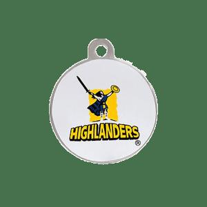 Highlanders Round ID Tag