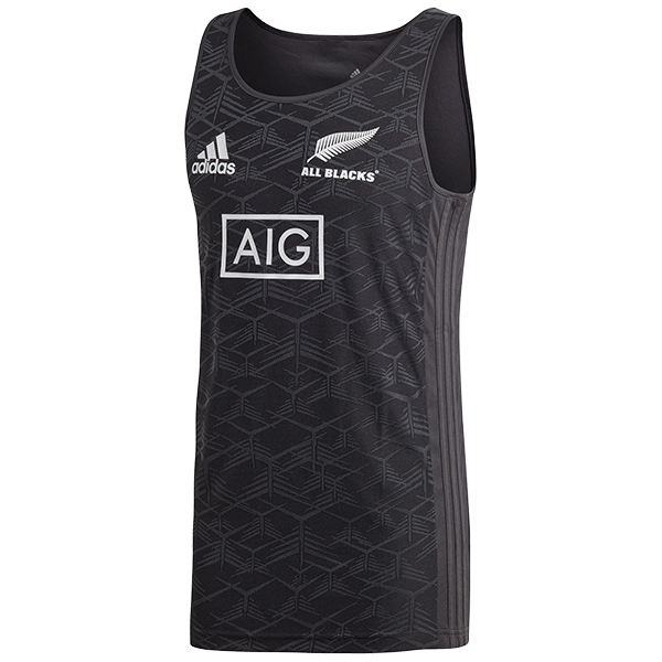 All Blacks Tri-Axle Singlet