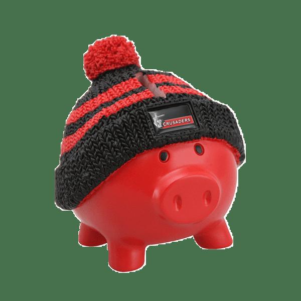 Crusaders Beanie Piggy Bank
