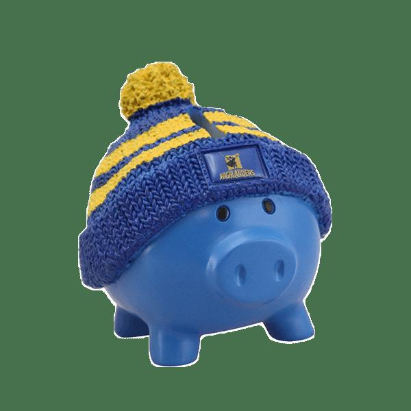 Highlanders Beanie Piggy Bank