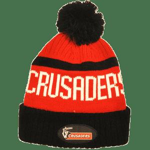 Crusaders Pompom Beanie