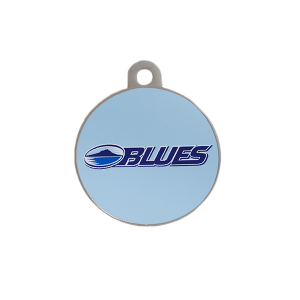 Blues Round ID Tag