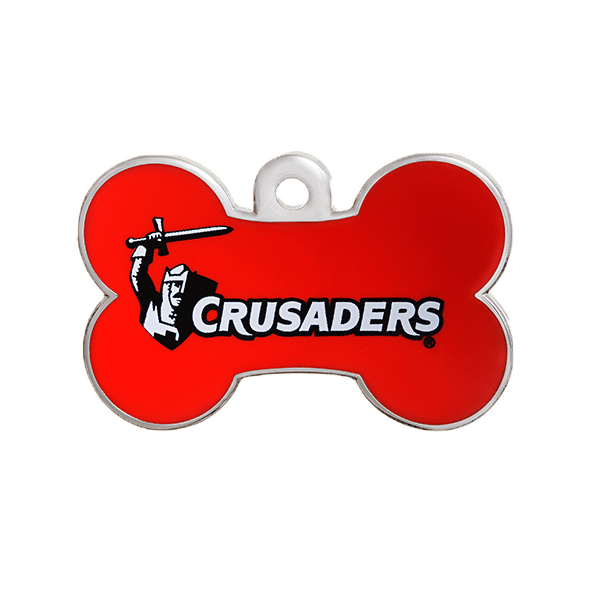 Crusaders Bone ID Tag