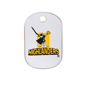 Highlanders Rectangle ID Tag