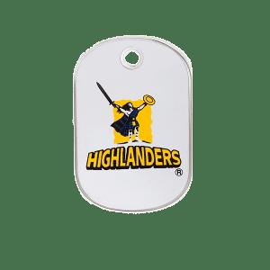 Highlanders Rectangle ID Tag