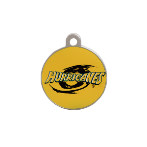 Hurricanes Round ID Tag