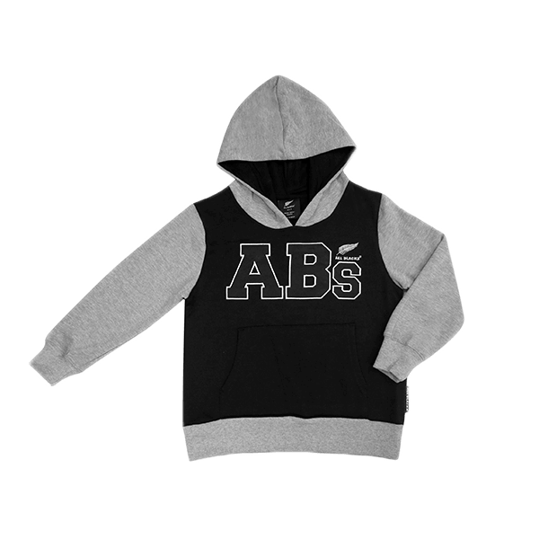 All Blacks Kids Pocket Hoodie