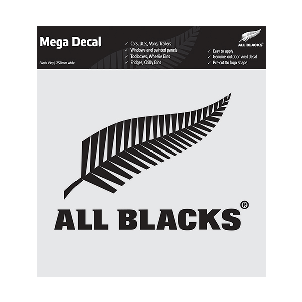 All Blacks Mega Decal