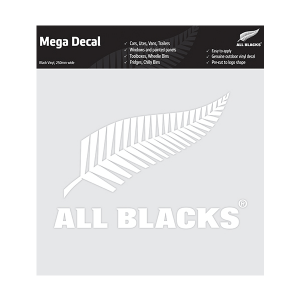 All Blacks Fern Mega Decal White
