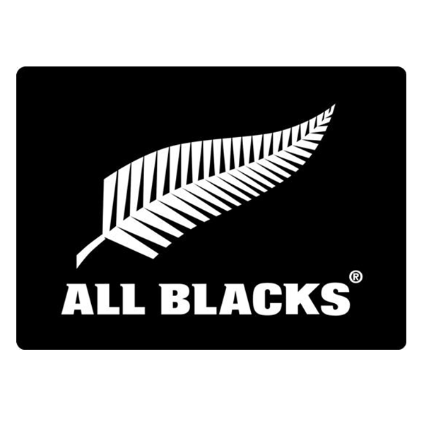 All Blacks Fern Mega Decal – Black