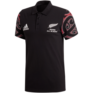 Maori All Blacks Red Polo Shirt