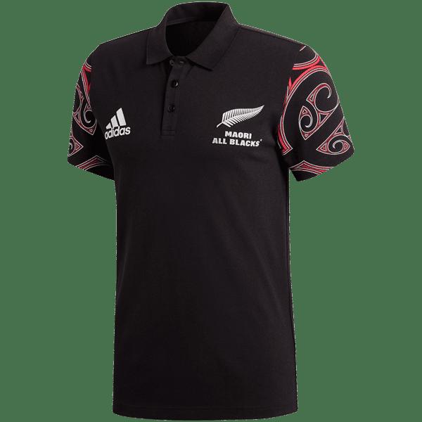 Maori All Blacks Red Polo Shirt
