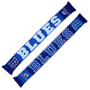 Blues Collegiate Jacquard Scarf