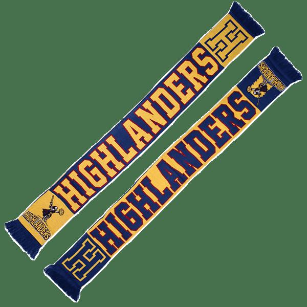 Highlanders Collegiate Jacquard Scarf