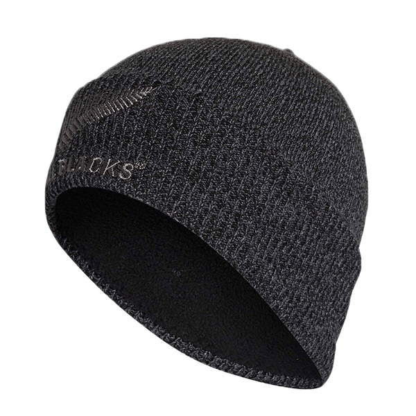 756ff950 All Blacks Grey Beanie | Champions of the World | champions.co.nz