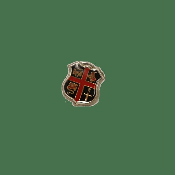Crusaders Shield Pin