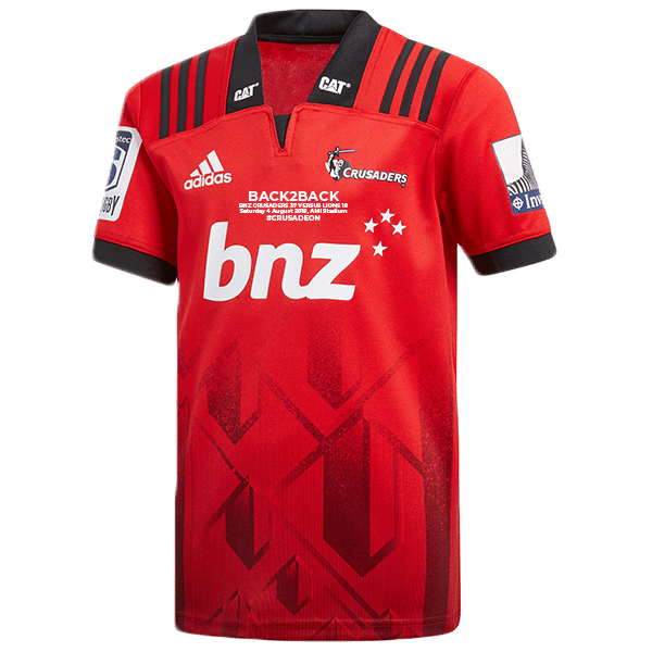 8a78d271208 Crusaders Super Rugby Back2Back Home Jersey|Champions of the World
