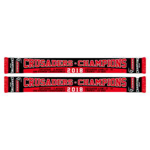 Crusaders Champions Scarf 2018