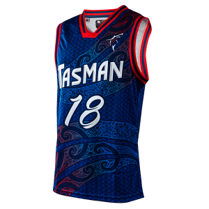 Tasman Rugby Basketball Singlet