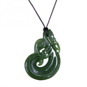 All Blacks Pounamu Manaia medium